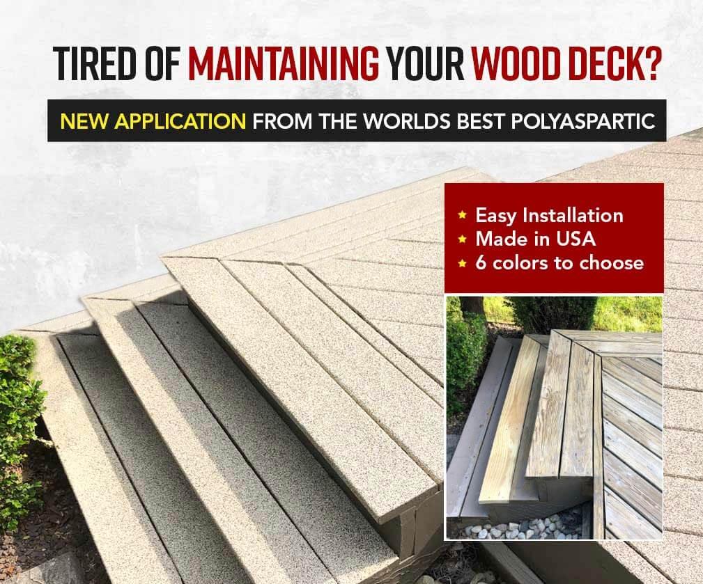 Waterproof Wood Deck Coating